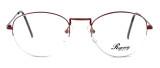 Regency International Designer Eyeglasses Lady in Lite Burgundy 54mm :: Rx Bi-Focal
