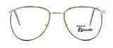 Regency International Designer Reading Glasses Dover in Gold Grey 52mm