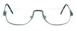 Regency International Designer Reading Glasses Haiflim in Silver 52mm