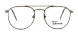 Regency International Designer Reading Glasses Geoffrey Antique & Gold Tortoise 53mm