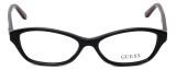 Guess Designer Eyeglasses GU2417-BLK in Black :: Rx Single Vision