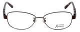 Guess by Marciano Designer Eyeglasses GM155-BRNTO in Brown-Tort :: Progressive
