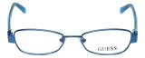 Guess Designer Eyeglasses GU9092-BL in Blue :: Progressive