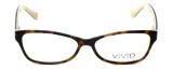 Calabria Splash Designer Eyeglasses SP59 in Demi-Brown :: Rx Bi-Focal