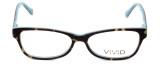 Calabria Splash Designer Eyeglasses SP59 in Demi-Blue :: Rx Bi-Focal