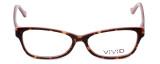 Calabria Splash Designer Eyeglasses SP59 in Demi-Pink :: Rx Bi-Focal