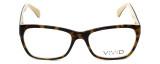 Calabria Splash Designer Eyeglasses SP60 in Demi-Brown :: Rx Bi-Focal