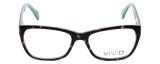 Calabria Splash Designer Eyeglasses SP60 in Demi-Blue :: Rx Bi-Focal