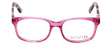 Calabria Viv Designer Eyeglasses 144 in Pink :: Rx Bi-Focal