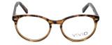 Calabria Viv Designer Eyeglasses 822 in Demi-Brown :: Rx Bi-Focal