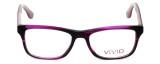 Calabria Viv Designer Eyeglasses 857 in Lilac :: Rx Bi-Focal