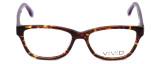 Calabria Viv Designer Eyeglasses 864 in Pruple-Marble :: Rx Bi-Focal