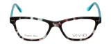 Calabria Viv Designer Eyeglasses 867 in Demi-Blue :: Rx Bi-Focal