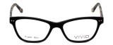 Calabria Viv Designer Eyeglasses 867 in Matte-Black-Demi :: Rx Bi-Focal