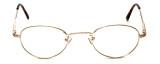 Flex Collection Designer Eyeglasses FL-30 in Gold 48mm :: Rx Bi-Focal