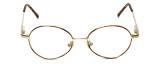 Flex Collection Designer Eyeglasses FL-37 in Gold-Demi-Brown 46mm :: Rx Bi-Focal