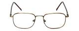 FlexPlus Collection Designer Eyeglasses  Model 60 in Ant-Gold-Amber 51mm :: Rx Bi-Focal