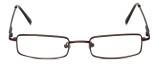 FlexPlus Collection Designer Eyeglasses Model 112 in Brown 48mm :: Rx Bi-Focal