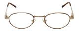 Flex Collection Designer Reading Glasses FL-46 in Gold-Tortoise 44mm
