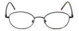 FlexPlus Collection Designer Reading Glasses Model 82 in Ant-Brown 50mm