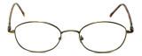FlexPlus Collection Designer Reading Glasses Model 82 in Ant-Gold 50mm