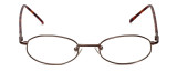 FlexPlus Collection Designer Reading Glasses Model 89 in Brown-Satin 46mm