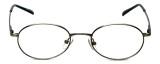 MetalFlex Designer Reading Glasses Model M in Ant-Pewter 48mm