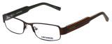 Converse Designer Eyeglasses Here to There in Brown 50mm :: Rx Bi-Focal