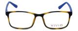 Calabria Viv Designer Eyeglasses 241 in Tortoise-Blue 53mm :: Rx Bi-Focal