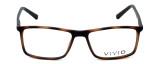 Calabria Viv Designer Eyeglasses 248 in Tortoise-Black 55mm :: Rx Bi-Focal