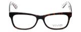 Calabria Viv Designer Eyeglasses 870 in Demi-White 55mm :: Rx Bi-Focal
