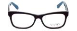 Calabria Viv Designer Eyeglasses 870 in Purple-Blue 55mm :: Rx Bi-Focal