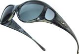 Jonathan Paul® Fitovers Eyewear Medium Lotus in Smoke-Marble & Gray