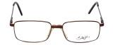 Dale Jr. Designer Eyeglasses DJ6808-SBR in Satin Brown 57mm :: Rx Bi-Focal