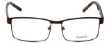 Big and Tall Designer Eyeglasses Big-And-Tall-15-Matte-Brown in Matte Brown 60mm :: Rx Bi-Focal
