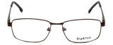 Big and Tall Designer Eyeglasses Big-And-Tall-16-Brown in Brown 59mm :: Rx Bi-Focal