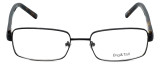 Big and Tall Designer Eyeglasses Big-And-Tall-1-Black in Black 60mm :: Rx Bi-Focal