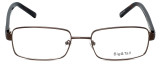 Big and Tall Designer Eyeglasses Big-And-Tall-1-Brown in Brown 60mm :: Rx Bi-Focal