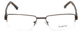 Big and Tall Designer Reading Glasses Big-And-Tall-7-Brown in Brown 60mm