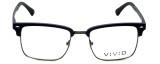 Calabria Viv Designer Eyeglasses Vivid-257 in Navy 52mm :: Rx Bi-Focal