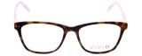 Vivid Designer Eyeglasses Vivid-878 in Tortiose-Pink 51mm :: Rx Bi-Focal