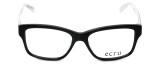 Ecru Designer Eyeglasses Collins-036 in Black 53mm :: Rx Bi-Focal