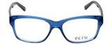 Ecru Designer Eyeglasses Collins-038 in Blue 53mm :: Rx Bi-Focal