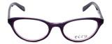 Ecru Designer Eyeglasses Daltrey-006 in Purple 50mm :: Rx Bi-Focal