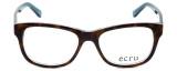 Ecru Designer Eyeglasses Morrison-050 in Tortoise-Blue 51mm :: Rx Bi-Focal