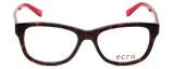 Ecru Designer Eyeglasses Morrison-051 in Tortoise-Red 51mm :: Rx Bi-Focal