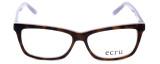 Ecru Designer Eyeglasses Springfield-017 in Tortoise-Purple 53mm :: Rx Bi-Focal