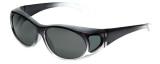 Calabria P2866POL-2T Polarized FitOver Sunglasses Medium Size