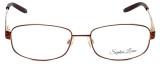 Sophia Loren Designer Eyeglasses SL-M243-077 in Burgundy 55mm :: Rx Bi-Focal
