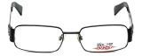 iStamp Designer Eyeglasses XP603M-021 in Black 55mm :: Rx Bi-Focal